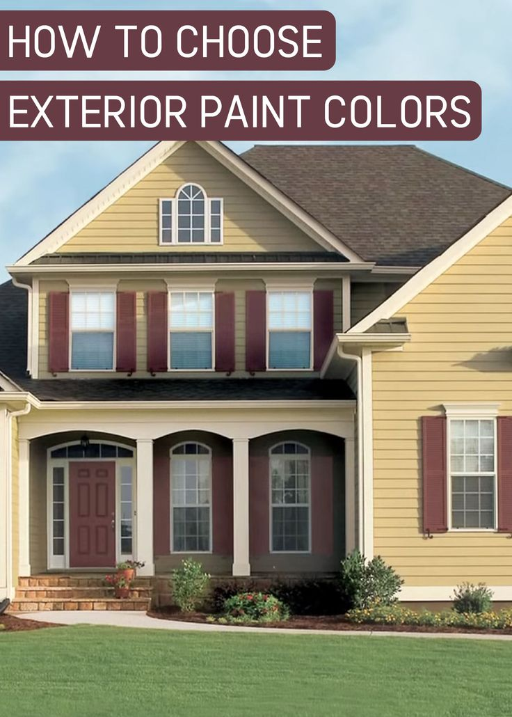 How To Choose Exterior Paint Colors For Your House Behr Exterior Paint Selector. Exterior Colors How To