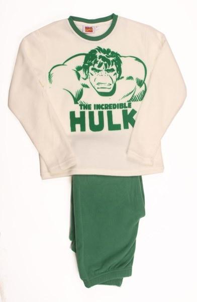 Pijama polar El Increíble Hulk