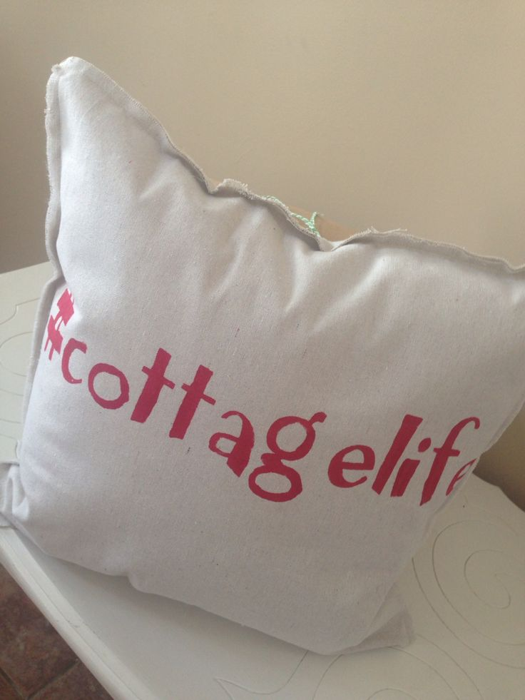 #cottagelife any colour available Handmade pillows $25