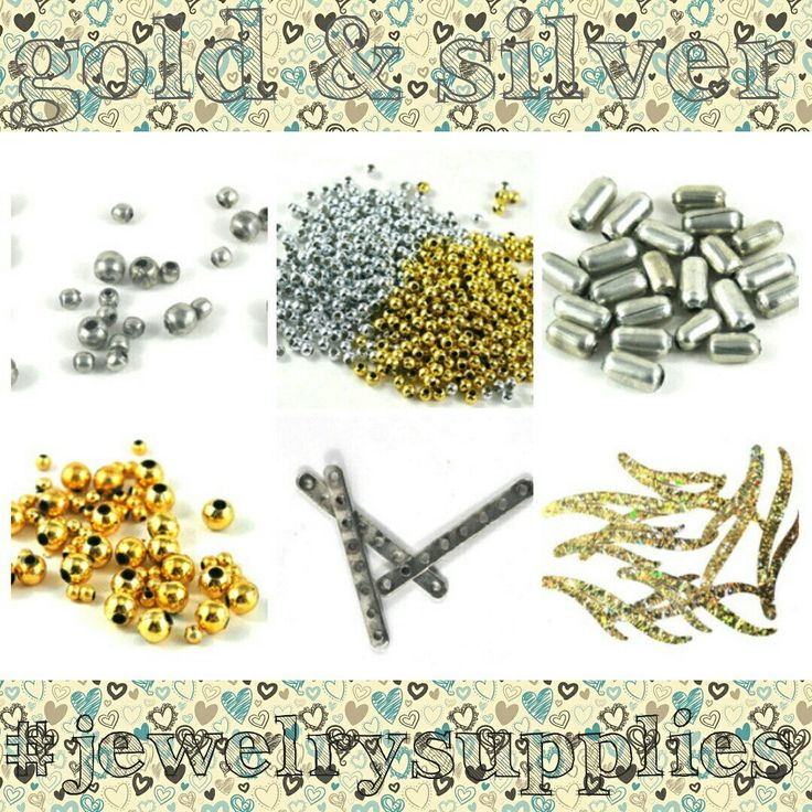 Yes! gold & silver - i also have lots of other great colours in my craft supplies shop on Etsy Ideal for jewellery design and craft projects