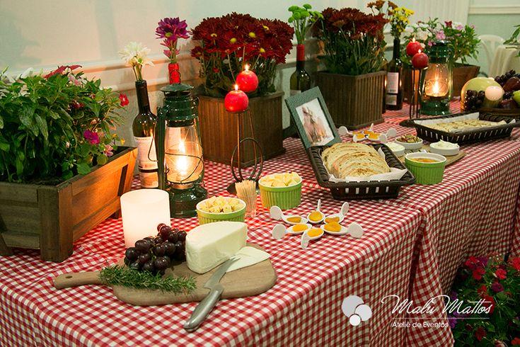jantar italiano Malu Mattos – Galeria de Fotos