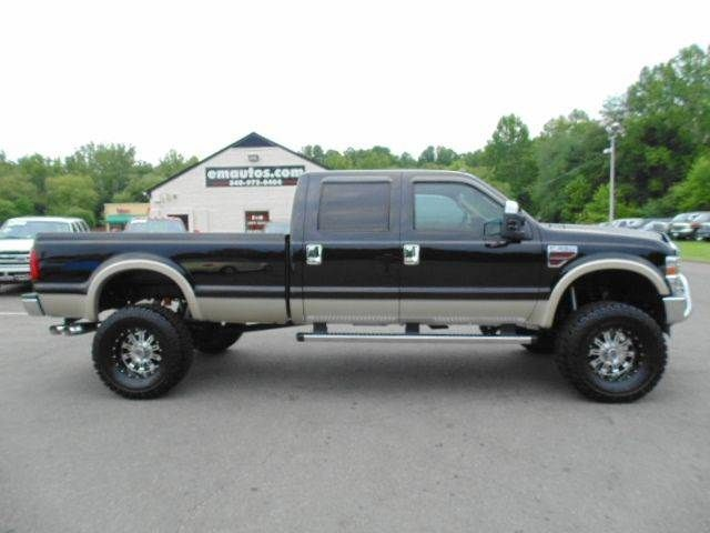 www emautos com one owner 2010 ford f 350 super duty lariat crew cab 4x4 long bed diesel truck. Black Bedroom Furniture Sets. Home Design Ideas