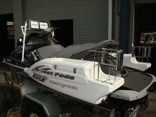 Jetski Fishing Rigs Jetski Fishing Wave Runner Fishing