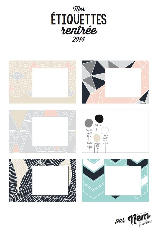 Top 219 best Etiquettes à imprimer / printable labels images on  JO98