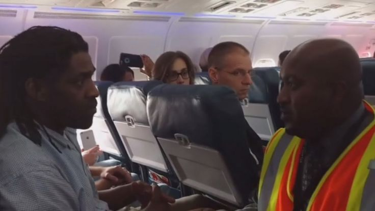 Delta 2035 - Delta's First and Second Attempt to Remove Passenger for Us...