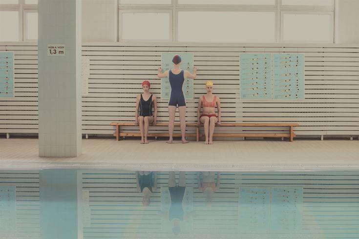 Swimming Pool by Mária Švarbová