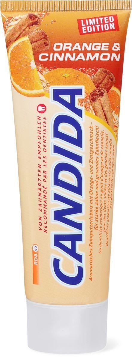 Candida Zahnpasta Orange & Cinnamon