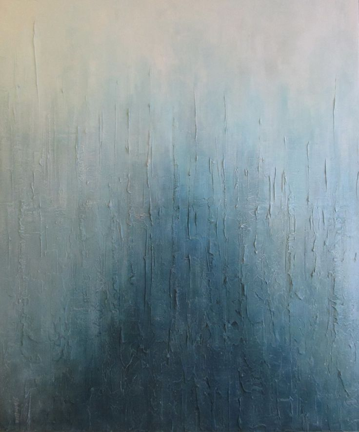 Abstrakcja błękitna, abstract on canvas, blue