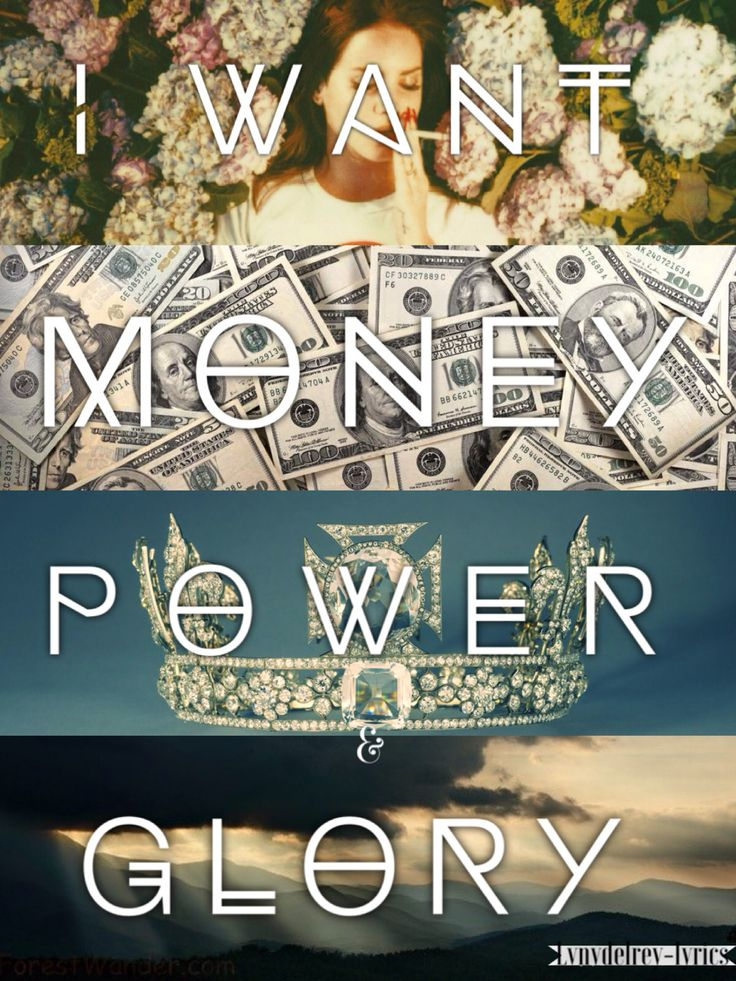 Lana Del Rey #LDR #Money_Power_Glory