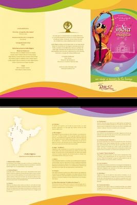 Bollywood Festival brochure