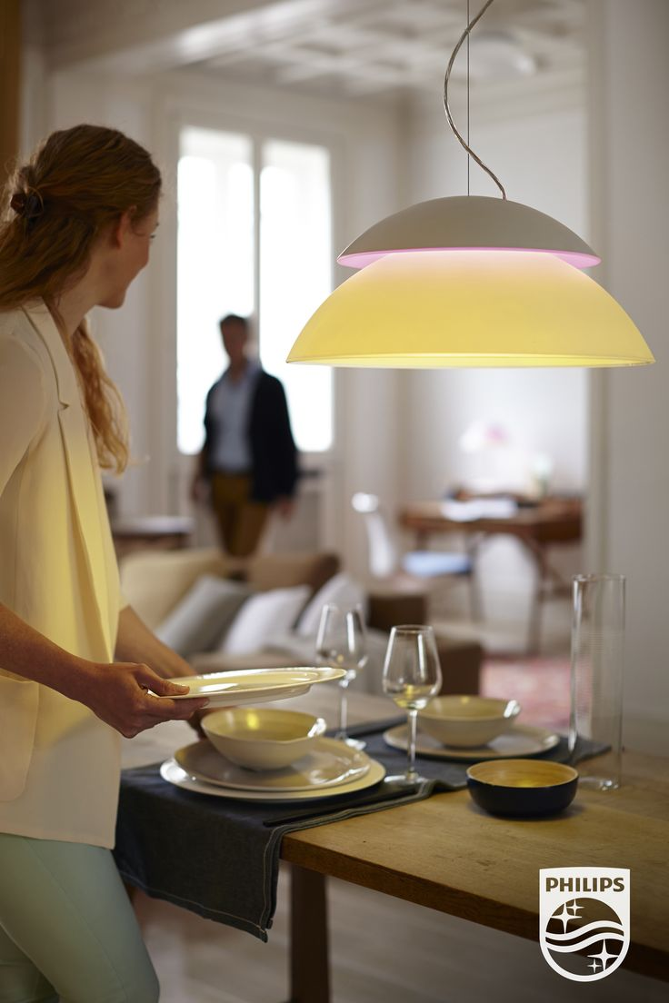 Nieuw, onze Philips hue Beyond. De eerste connected lamp die functionele, omgevings- en sfeerverlichting combineert voor elke ruimte in de woning. philips.to/1x9M6ye