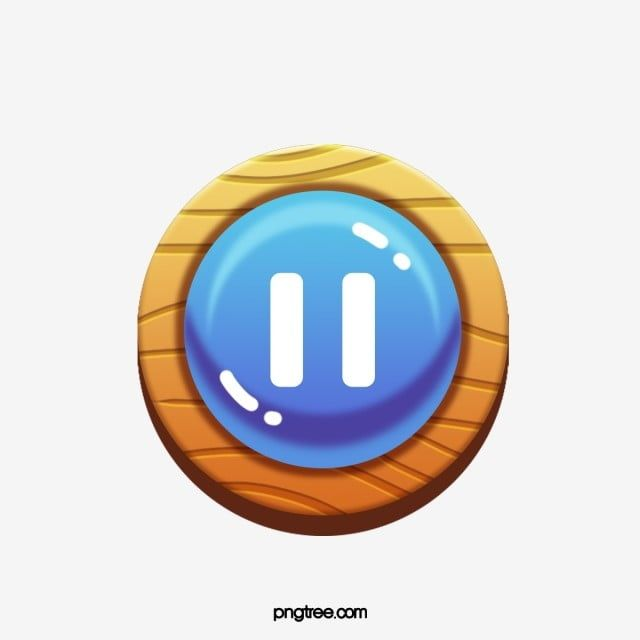 Game Pause Button Switch Stereo Effect Cartoon Game Button Switch Png Transparent Clipart Image And Psd File For Free Download Clip Art Cartoon Clip Art Button Game