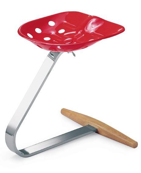 MEZZADRO stool by Zanotta | #design Achille Castiglioni , Pier Giacomo Castiglioni (1957)