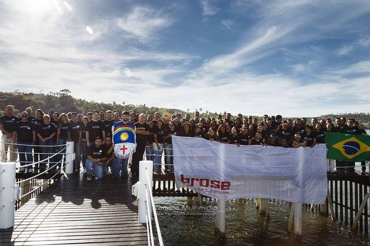 Equipe de sucesso equipe unida!! Workshop anual da Brose do Brasil.  Faça o seu evento institucional com a Tramela Multimídia!  #tramelamultimídia #vamostramelar #boratramelar #institucional #empresa #workshop #brose #mariafarinha #amoaras #pernambuco #brasil #brazil