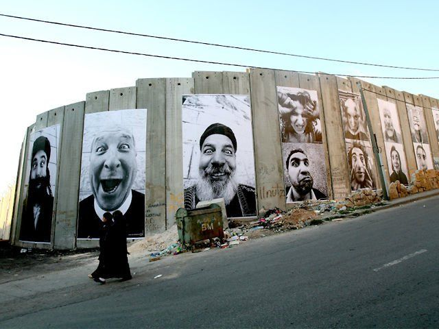 Face2Face Project - 2007. The Face2Face project, created in 2007, consists of taking portraits of Palestinians and Israelis who have the sam...