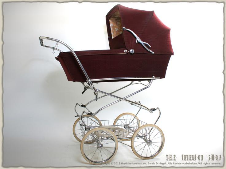 Antiker Kinderwagen * AUBERT * 60er-Jahre * Designklassiker * RAR *