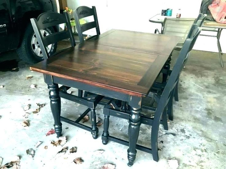 refinish oak table painted kitchen refinished can you