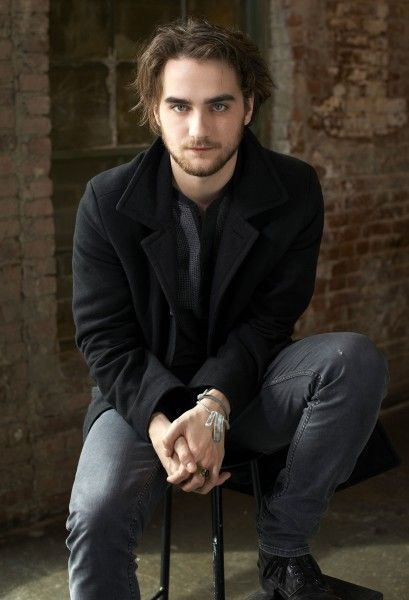 Landon Liboiron from Hemlock Grove....I think of him as a sexier version of Rob Pattinson (who actually isn't sexy at all) and Declan from Degrassi of course.