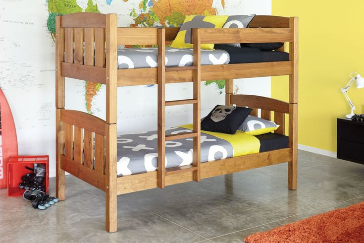 Waka King Single Bunk Bed Frame by Ezirest Furniture | Harvey Norman New Zealand