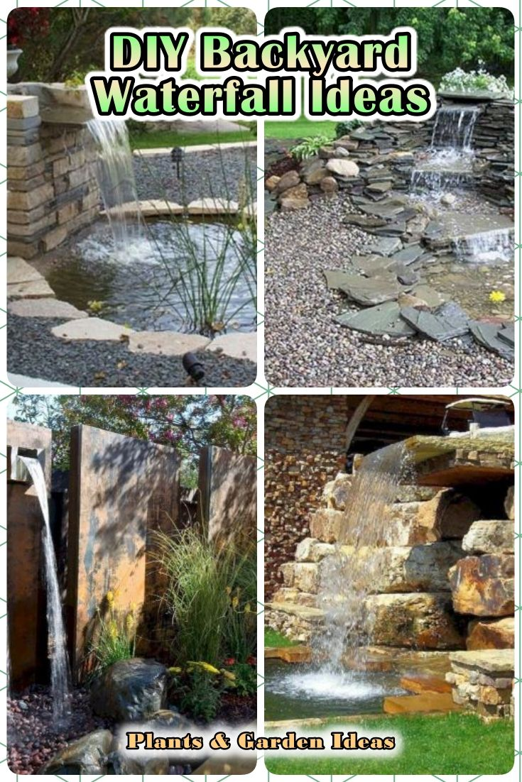 14 Diy Backyard Waterfall Ideas That Will Make Your Garden More