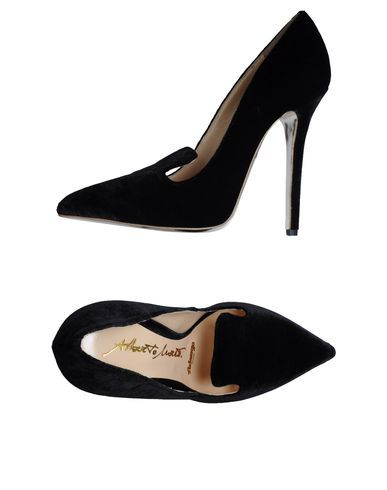authentic for sale Alberto Moretti Arfango Suede Pointed-Toe Pumps sale online shop cheap sale release dates clearance many kinds of many kinds of sale online VP5yZAZrIC