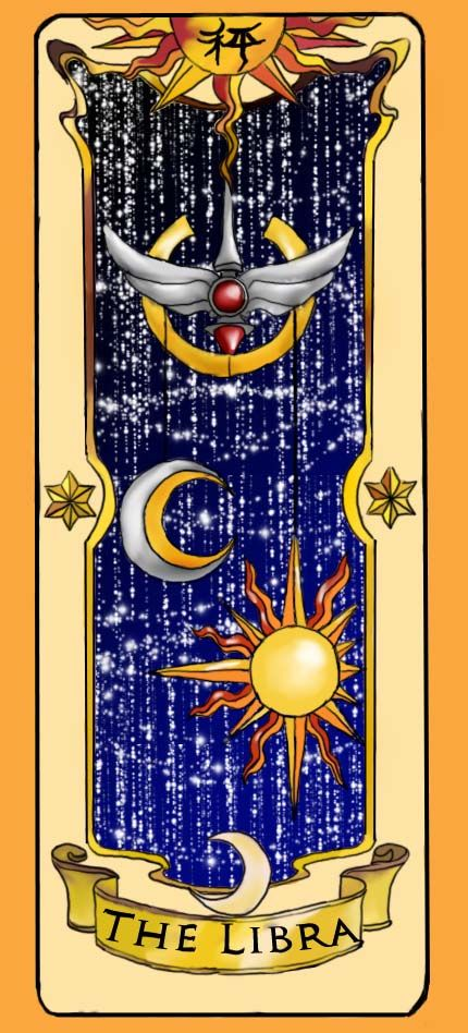 °Clow Card The Libra by inuebony