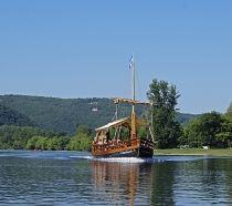 Boat trip on La Dordogne