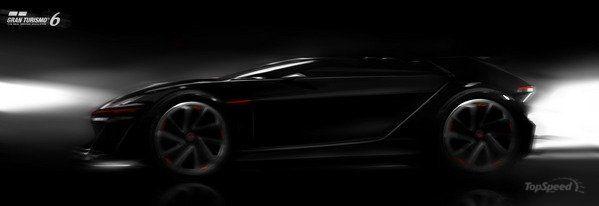 2014 volkswagen vision gran turismo concept - DOC537216
