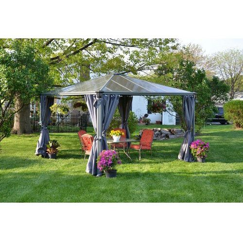 Unique wooden and pop-up garden gazebo canopy ideas, plans and kits with lights for inspiration. We've also tested and reviewed the best gazebos for sale.