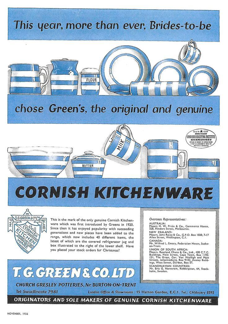 dating tg green cornishware