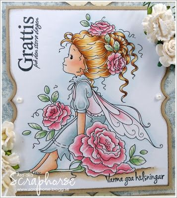 Copic Marker Europe: Scandinavian Coloring with Wee stamps... Skin: E11-21-00-000-R21-11 Hair: E35-33-YR23-Y21-Y00 Clothes: BG72-70 / RV93-91-000 Flowers: R85-83-81 Leafs: G24-21-20 Sky: B00-0000 Ground: E44-42-41