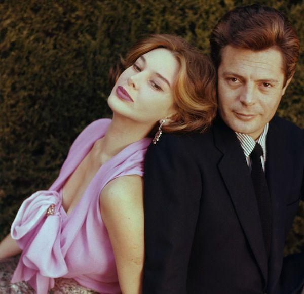 Eleonora Rossi Drago and Marcello Mastroianni by Chiara Samugheo