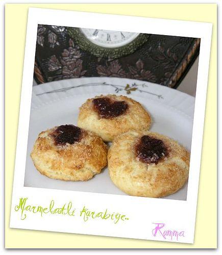 Marmelatlı kurabiye - rumma