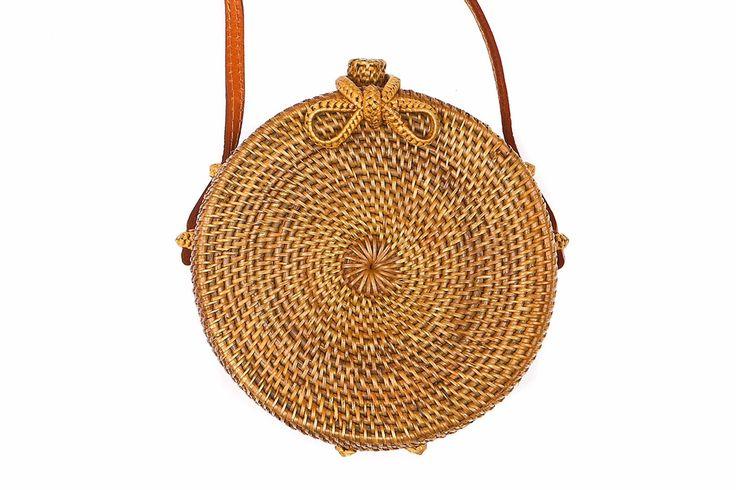 Balinese rattan small bag