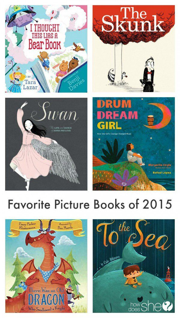 The Best Picture Books of 2015. Diverse group of books: non fiction & fiction, picture books for toddlers & picture books for older kids and more!