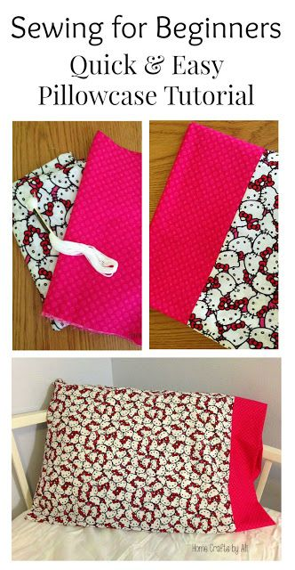 http://www.idecz.com/category/Pillow-Cases/ Sewing for Beginners - Quick & Easy Pillowcase Tutorial