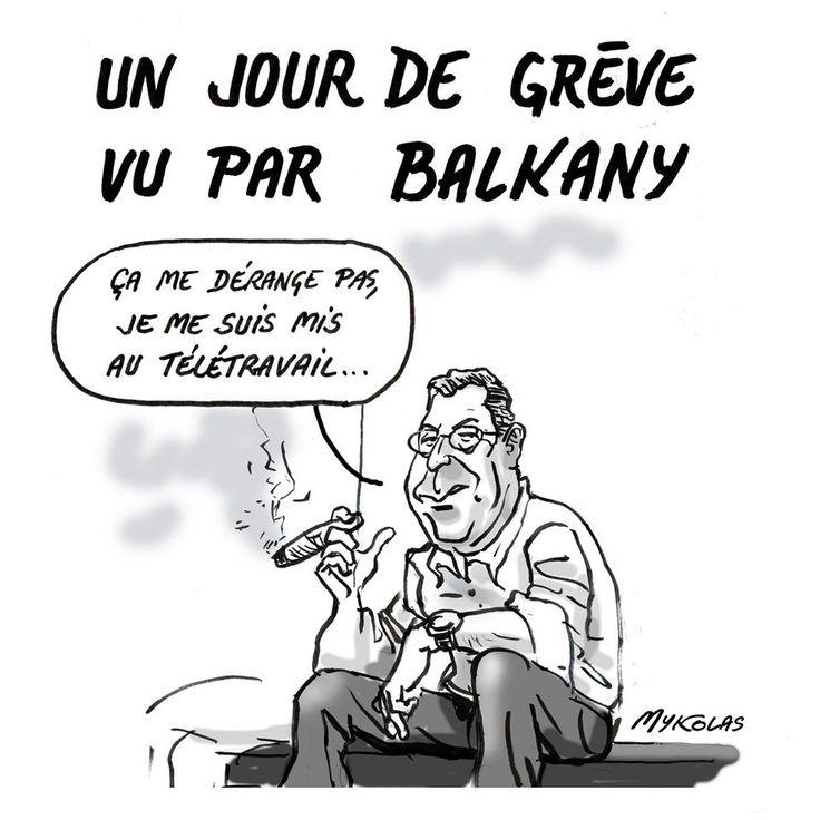 dessin d'actualité, Mykolas, dessin de Mykolas, blague sur Patrick Balkany, blague sur les ...