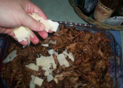 My Year on the Grill: Redneck Cake Recipe Revisited - Killians Beer Bread with Pulled Pork Icing