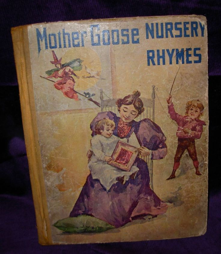 Nursery Book Cover Design : Best images about books mother goose on