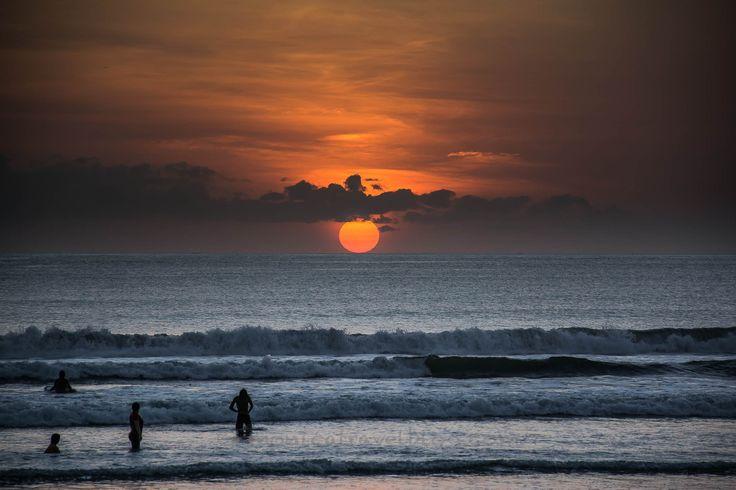 Sunset a Legian - Bali