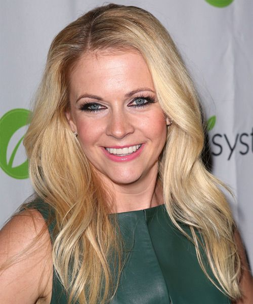 Melissa Joan Hart Hairstyle - Casual Long Straight. Click on the image to try on this hairstyle and view styling steps!