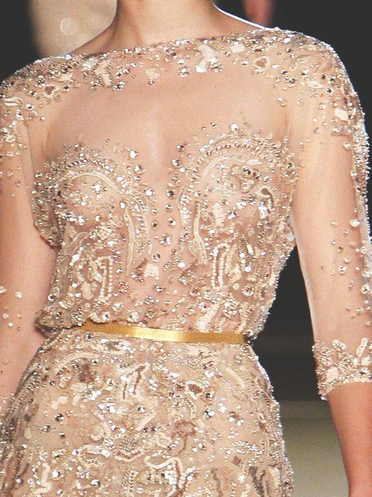 elie saab haute couture f/w 2012, detail.