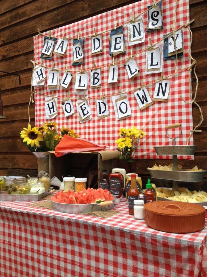 1000+ images about Hillbilly birthday party on Pinterest | Cowboy ...
