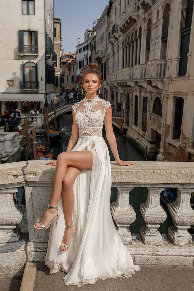 These brand new Julie Vino Wedding Dresses are smoking hot! http://www.confettidaydreams.com/julie-vino-wedding-dresses/