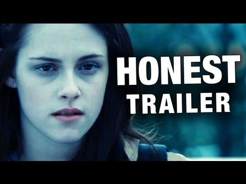 Honest Trailers - Twilight  HILARIOUS! :)