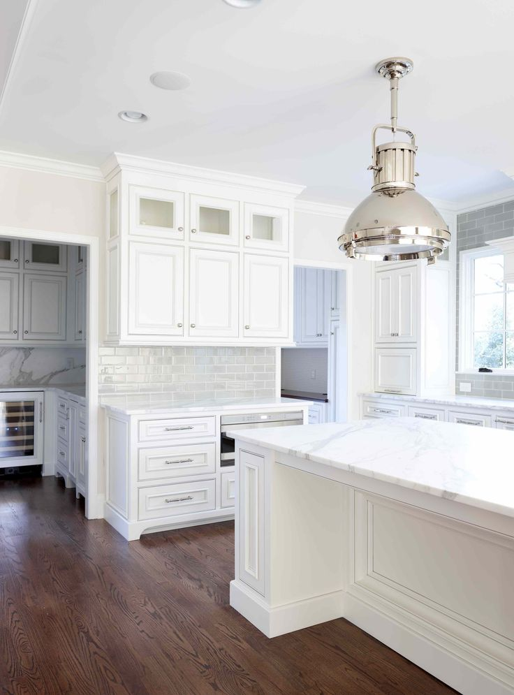 cabinets, island, pantry, backsplash