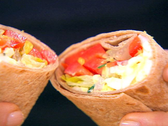 Egg SaladFood Network, Sandwiches Lettuce, Eggs Salad, Wraps Sandwiches, Healthy Eating, Salad Recipe, Salad Wraps, Egg Salad, Ellie Warrior
