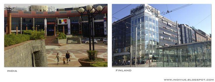 Shoppingmalls - Kauppakeskuksia