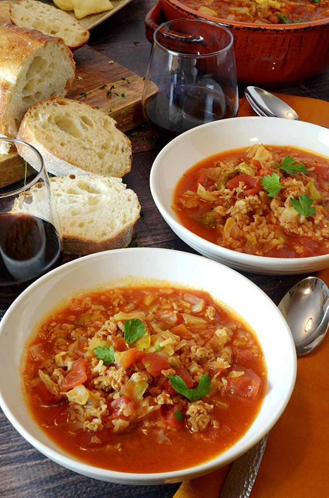 Golumpki Stuffed Cabbage Soup Recipe from Platter Talk