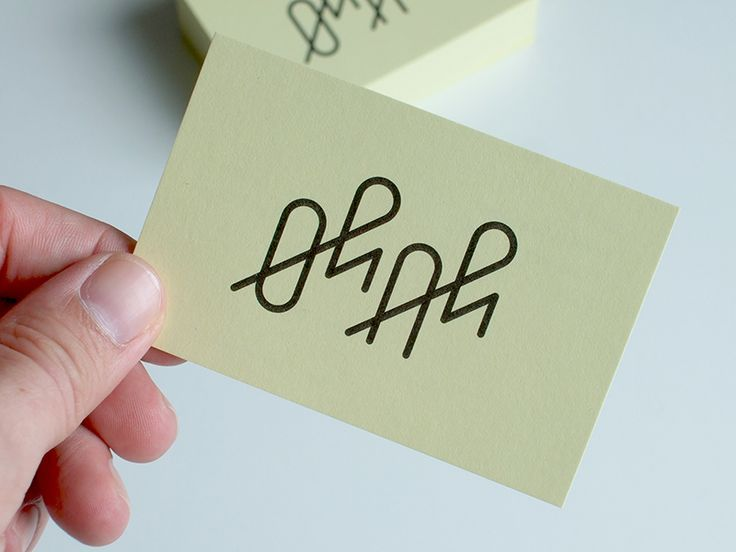 serialthrill:  Business Cards Oh+Ah by Timo Meyer http://www.fromupnorth.com/typography-inspiration-845/